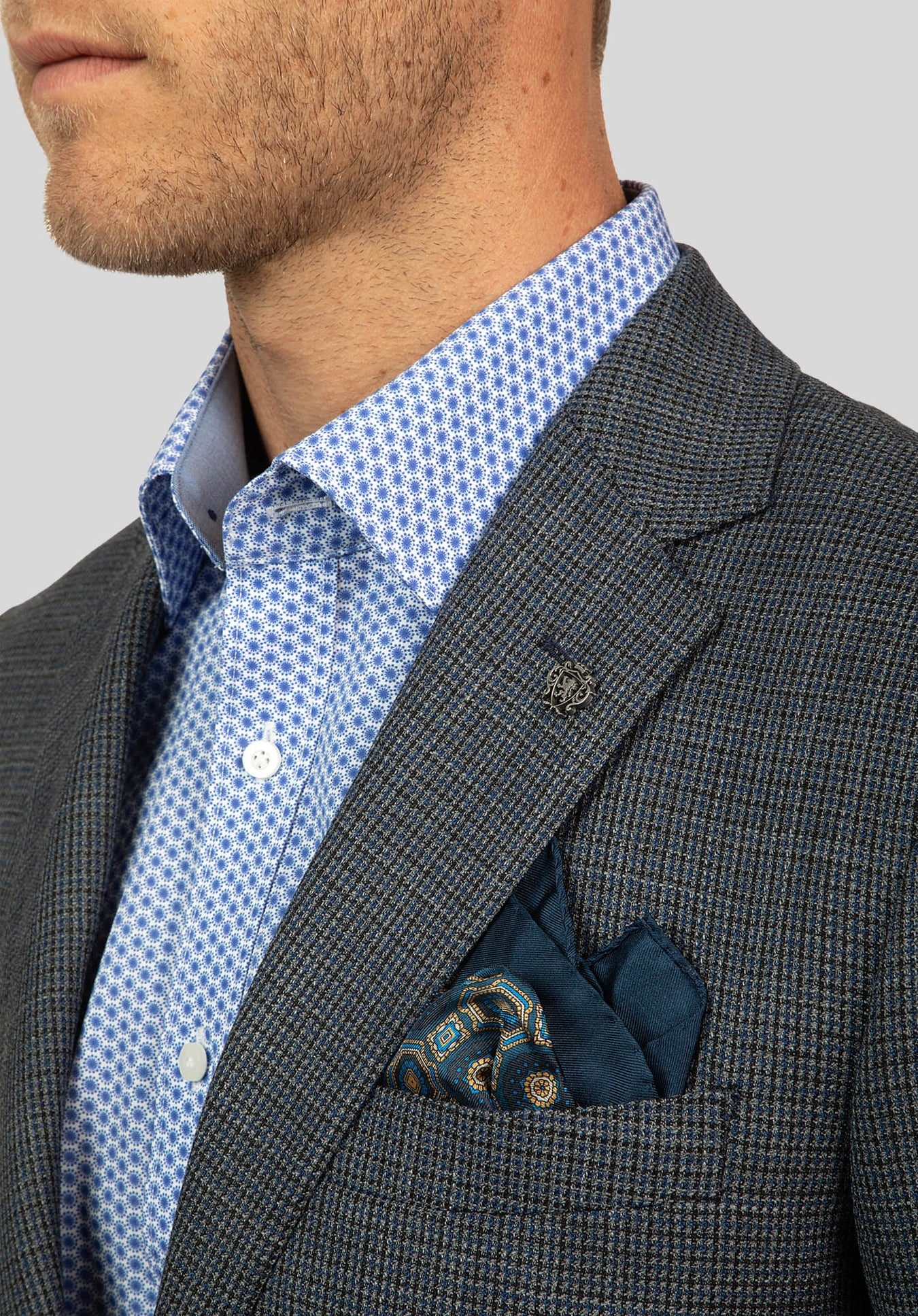 GLAMORGAN JACKET FCJ357 - Blue