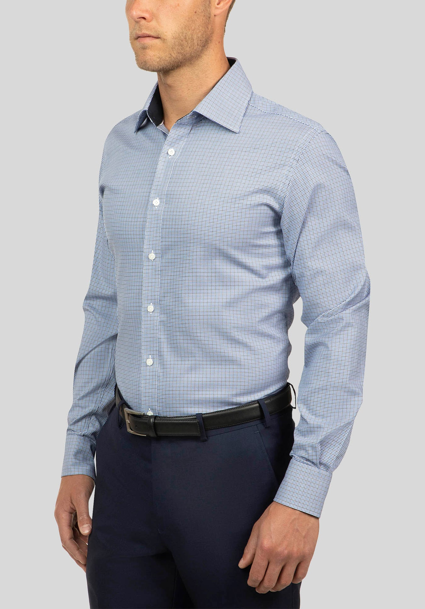 CARLTON SHIRT FCJ207 - Blue