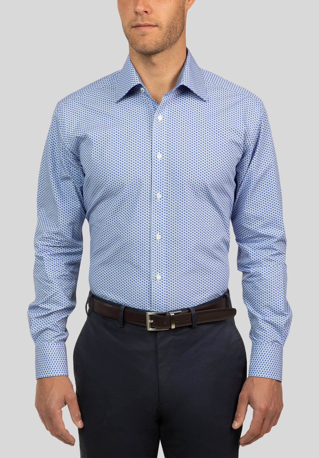 CARLTON SHIRT FCJ347 - Blue