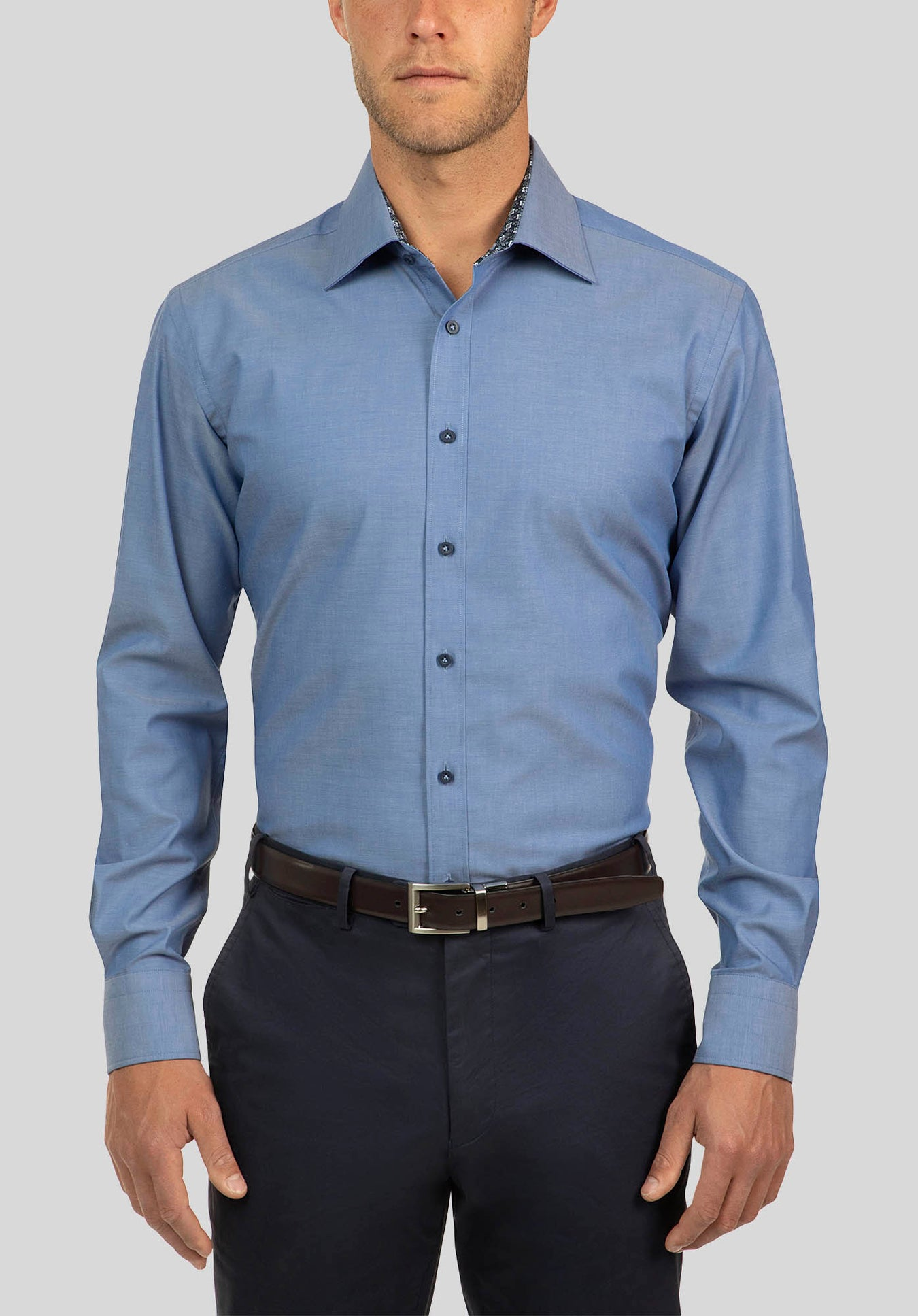 CARLTON SHIRT FCJ356 - Blue