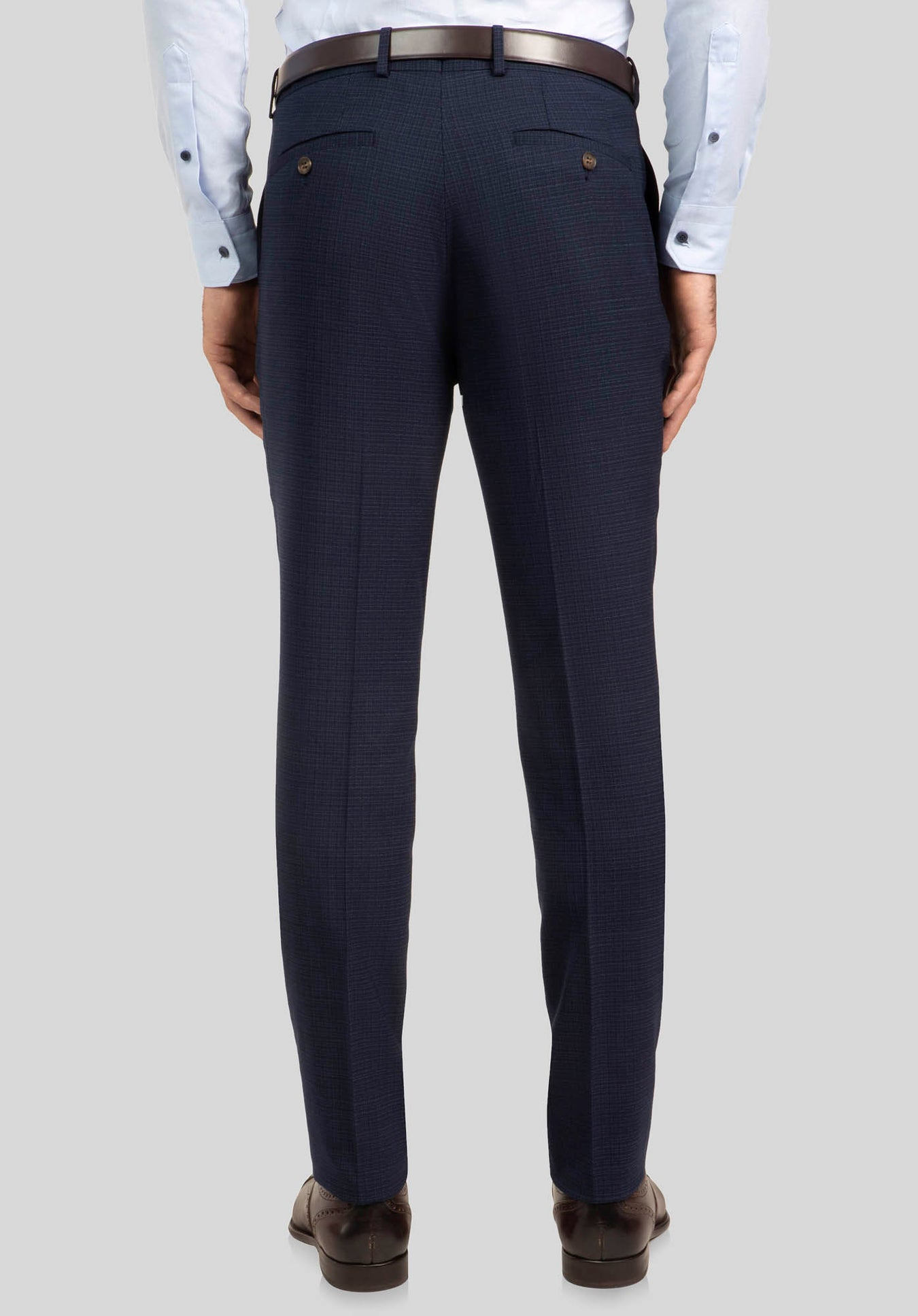 CAPER TROUSER FGJ604 - Dark Blue