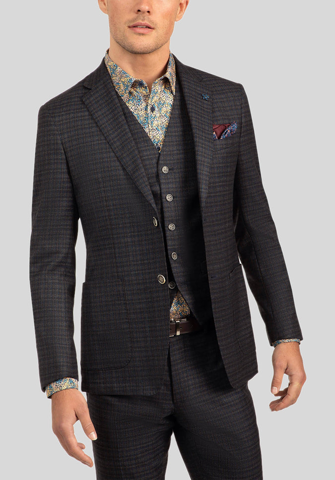COBALT SPORTS JACKET FGJ631 - Mocha