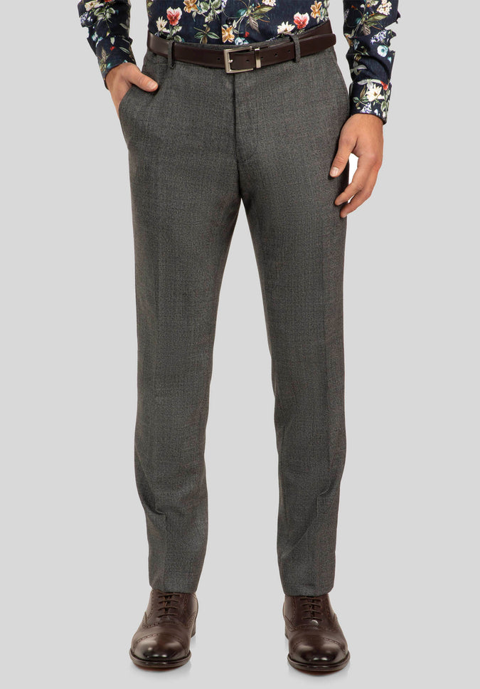 CAPER TROUSER FGJ611 - Dark Grey
