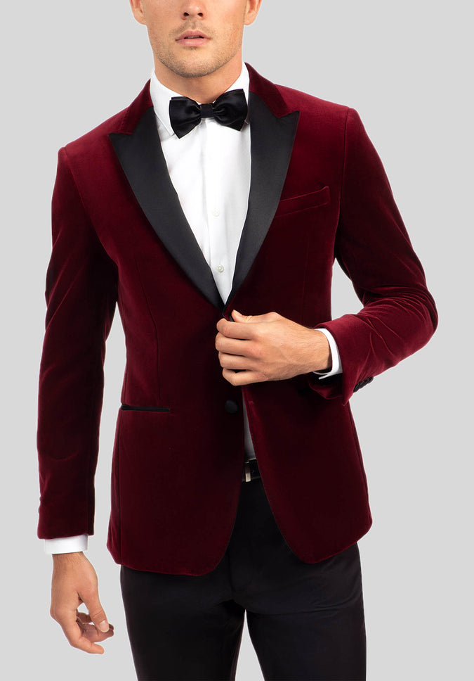 QUANTUM DINNER JACKET FGJ634 - Wine