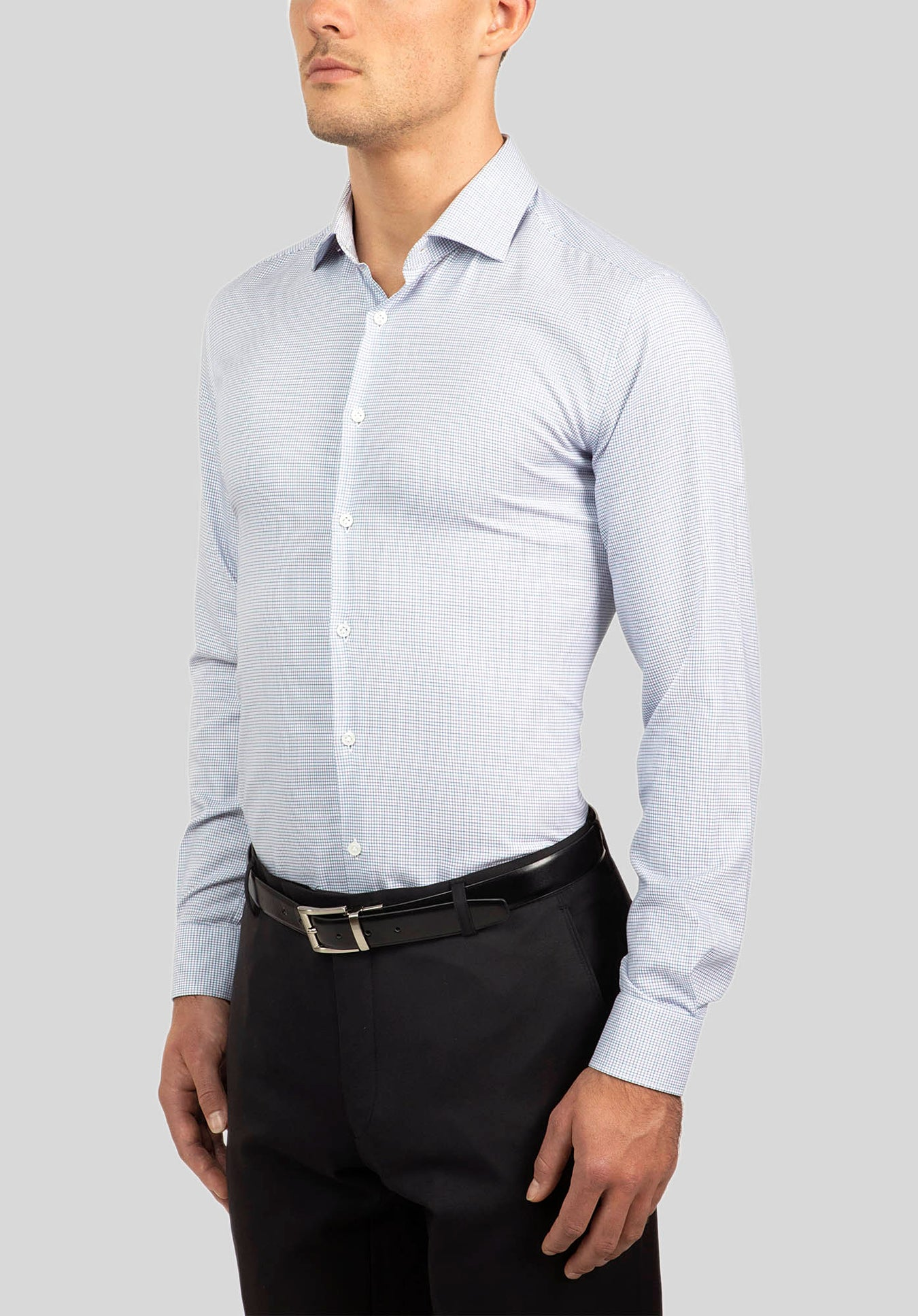 MOTION SHIRT FGJ601 - Blue