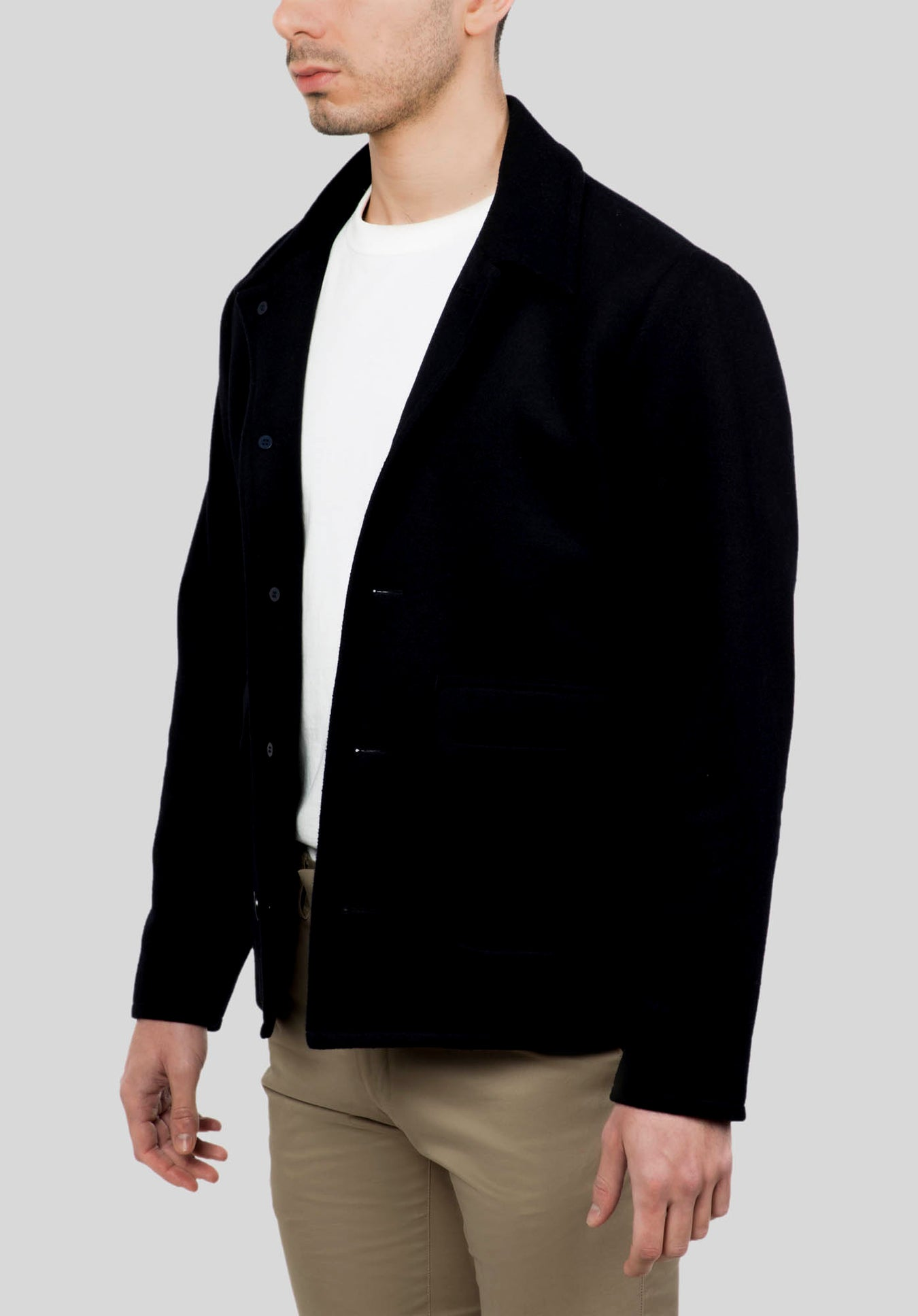 VOLT OVERCOAT FGJ640 - Navy