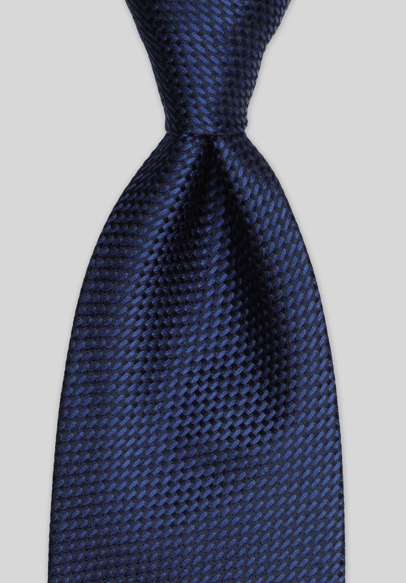 LONGSTITCH 7.5CM TIE - Navy