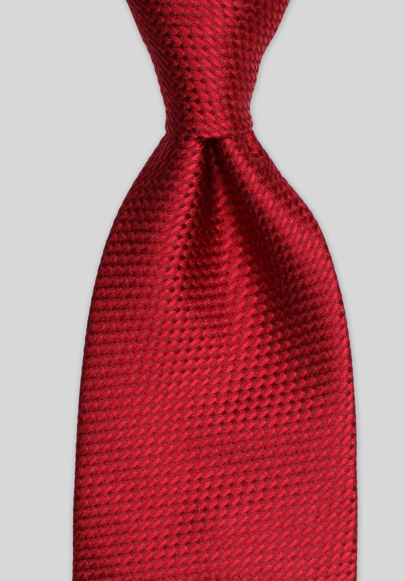 LONGSTITCH 7.5CM TIE - Red