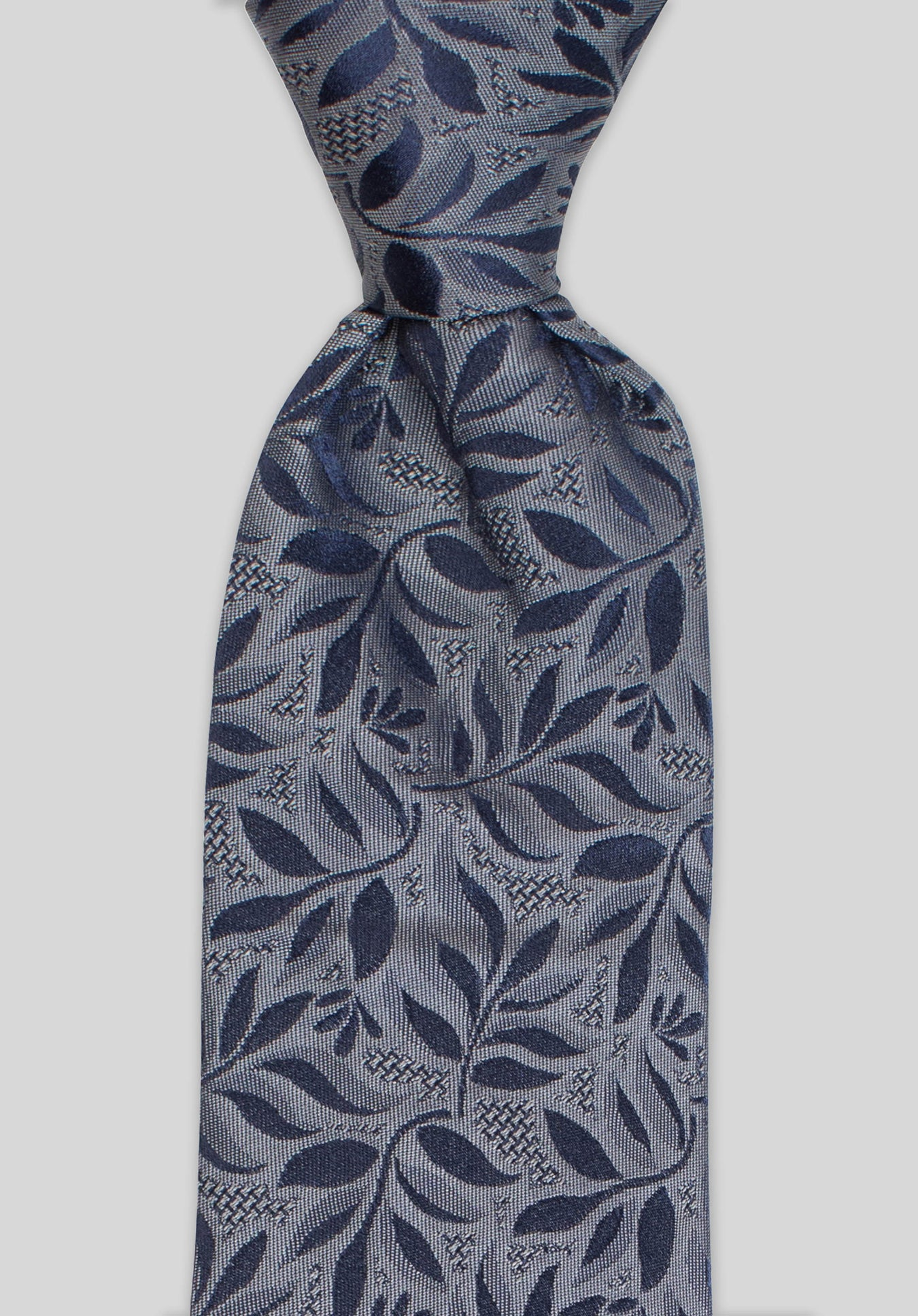 WILLOW 7.5CM TIE - Navy