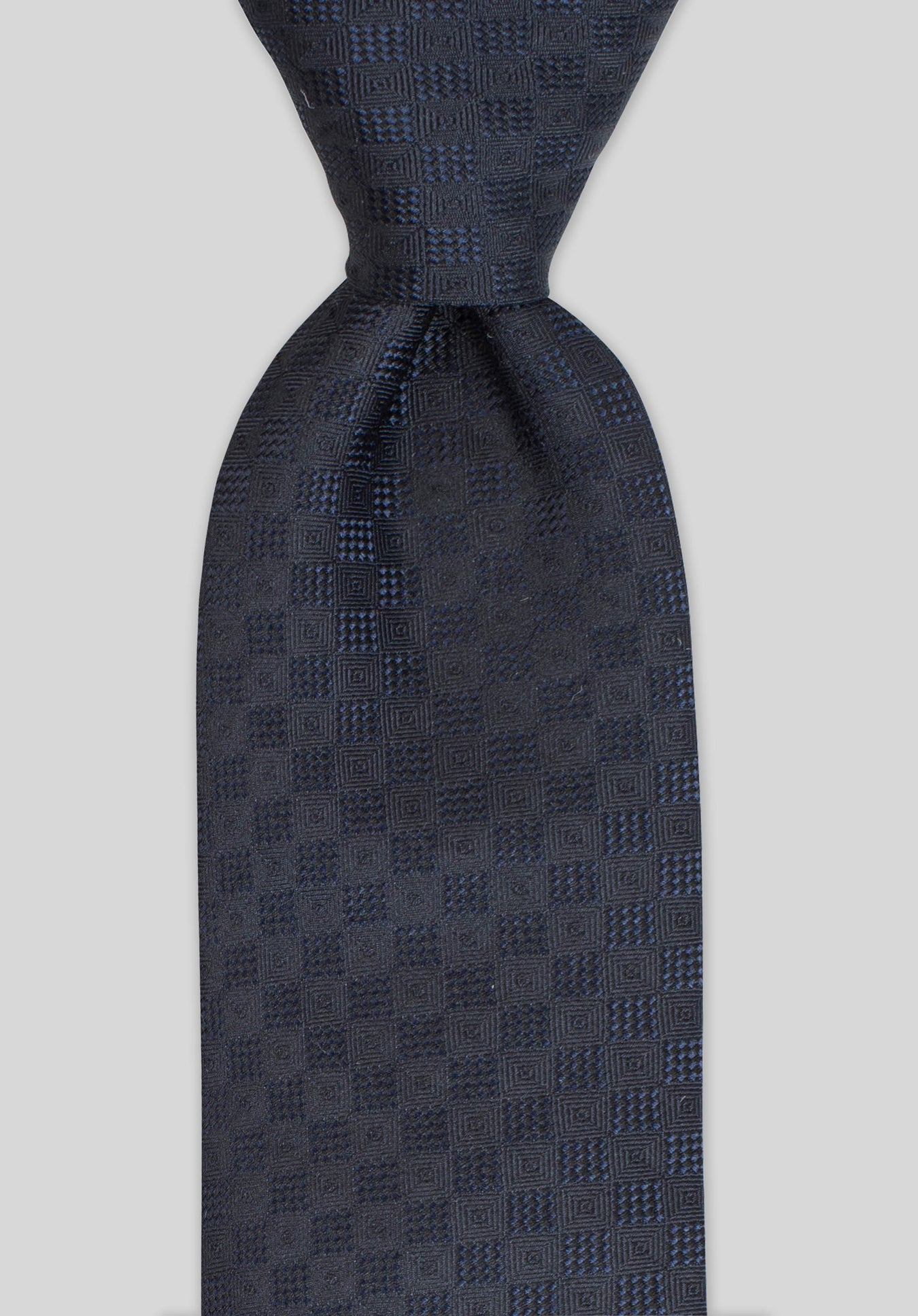 DIAMONDS 7.5CM TIE - Navy