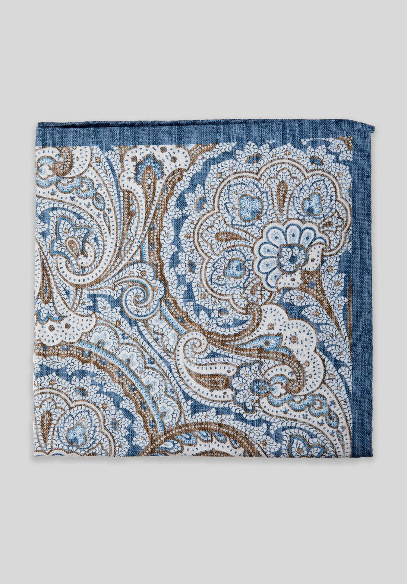 WASHED PAISLEY DOUBLE PRINT PS - Denim