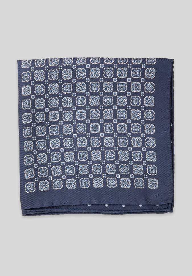 DBL PRINT 5-WAY POCHETTE - Navy