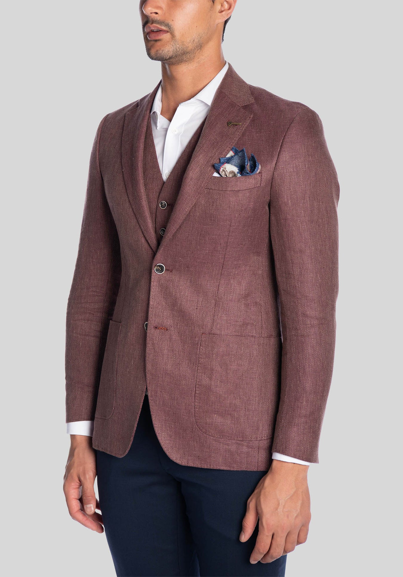 CRUISE SPORTS JACKET FJK830 - Rust