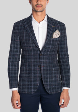 AIRBORNE SPORTS JACKET FJK831 - Navy