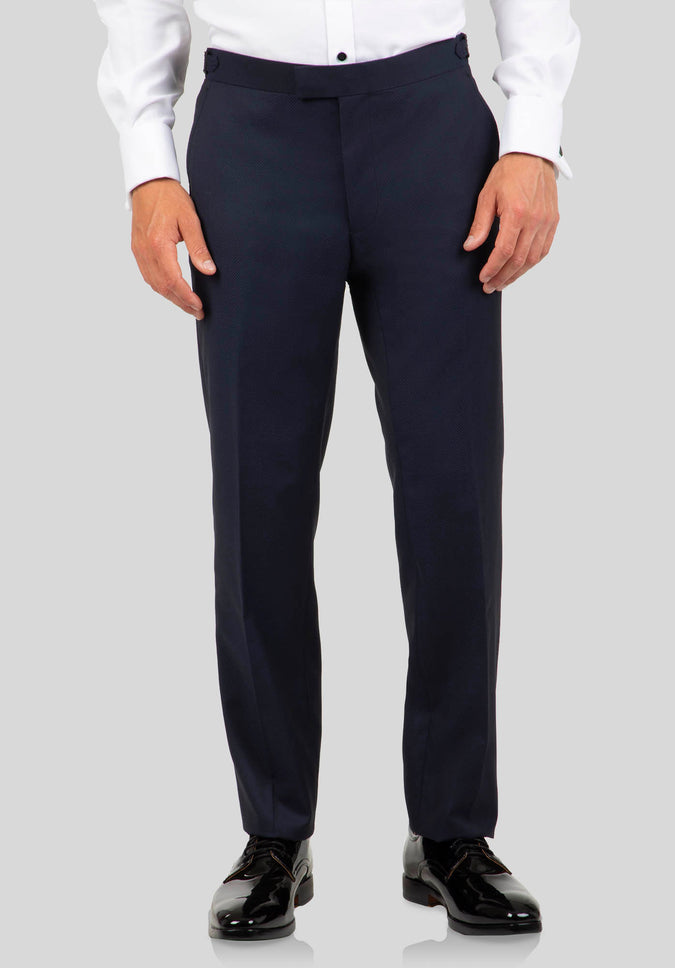 SOLIDUS DINNER TROUSER FJK832 - Navy