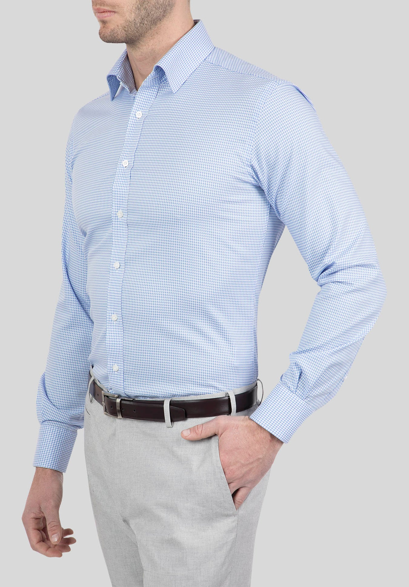 PIONEER SHIRT FJI924 - Light Blue