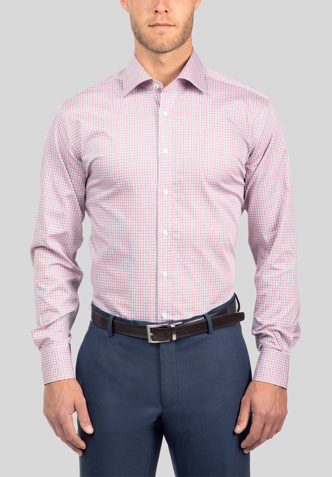 CHIEF SHIRT FJJ958 - Berry