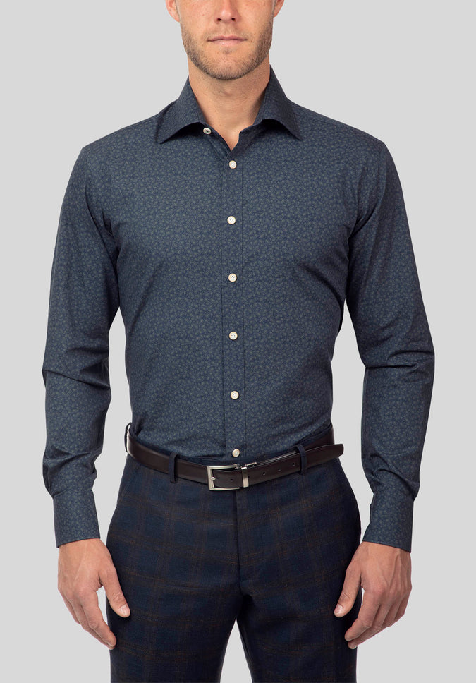 CHIEF SHIRT FJJ980 - Navy