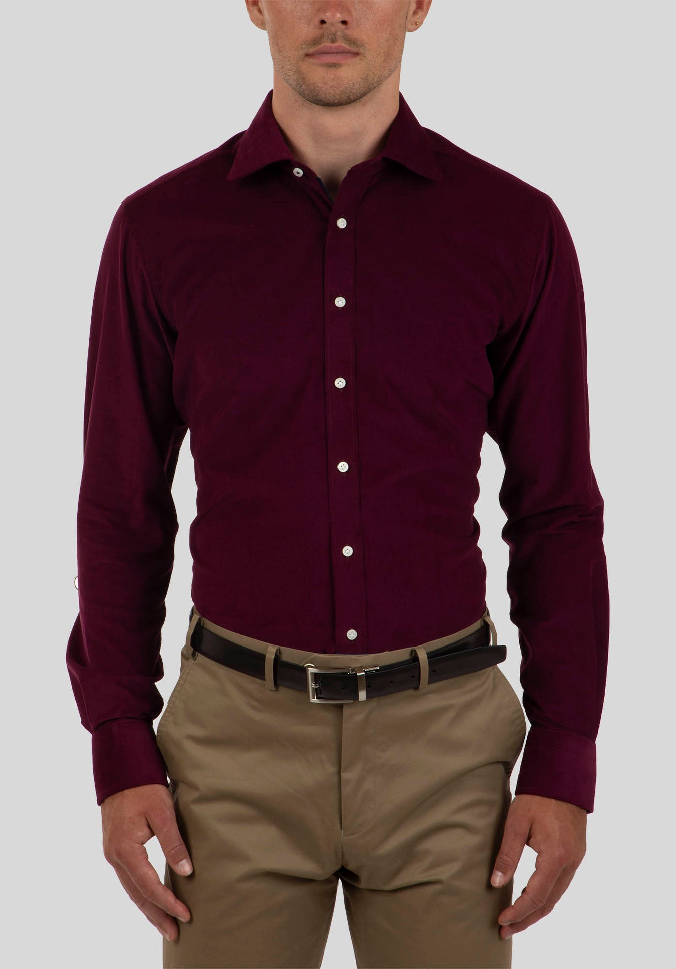 BREACH SHIRT FJL868 - Wine