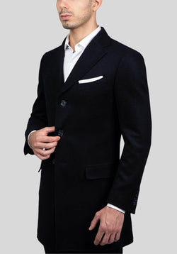 SHIELD OVERCOAT FGJ640 - Navy