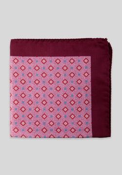 DIAMONDS POCKET SQUARE - Berry