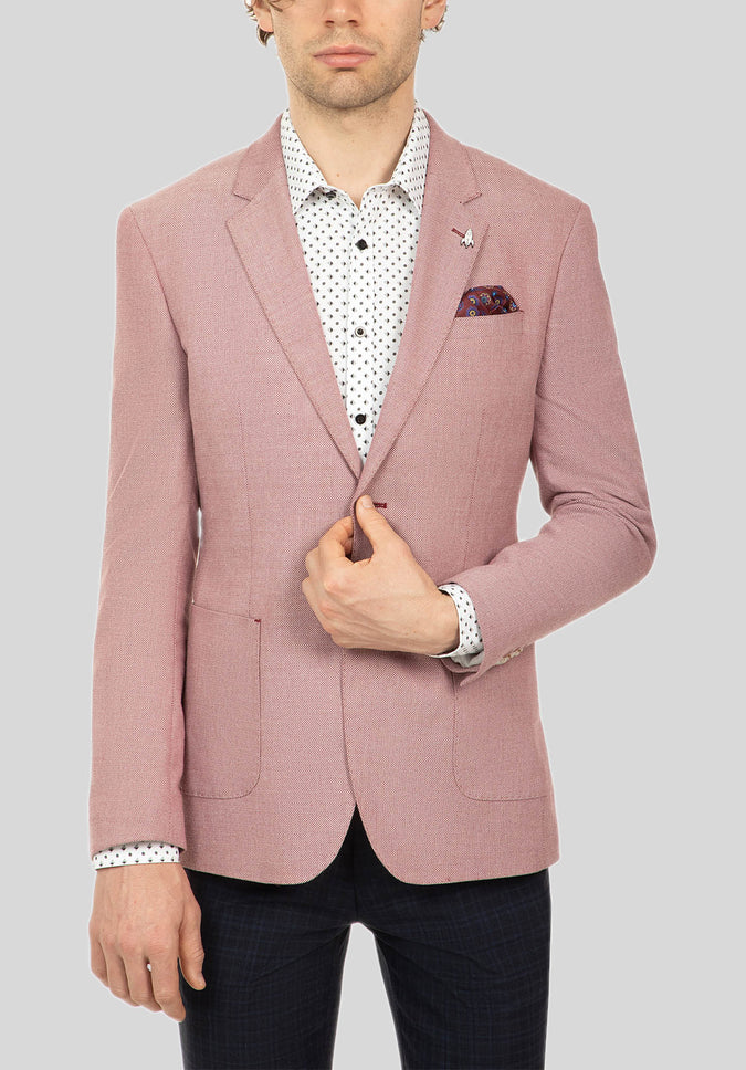 LINTON SPORTS JACKET FUJ544 - Rose