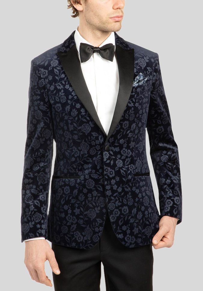 JUWAN DINNER JACKET FUJ540 - Navy