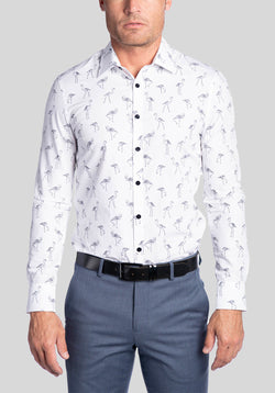 KEMBA SHIRT FUK556 - Black White