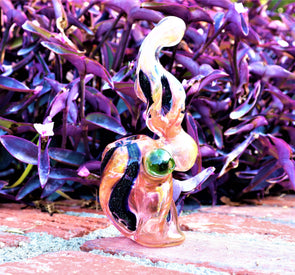 "10"" PINK MAGIC BUBBLER COLLECTIBLE TOBACCO GLASS SMOKING HERB BOWL HAND PIPES GIFT"