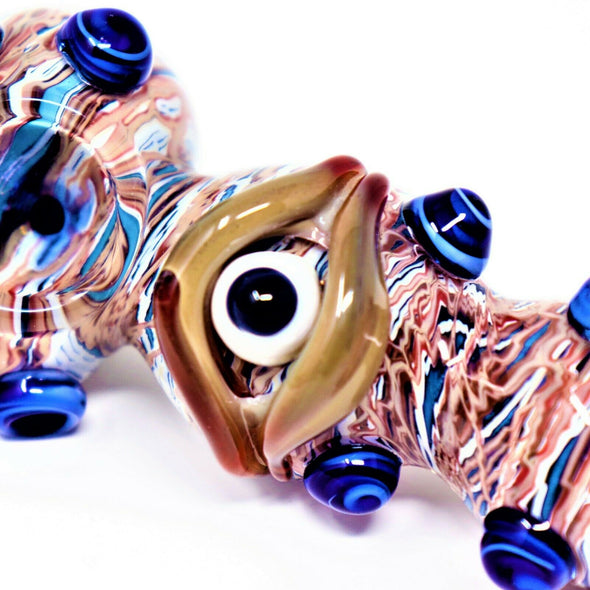 "5"" THIRD EYE CYCLOPS COLLECTIBLE TOBACCO GLASS SMOKING BOWL HAND PIPES GIFT"