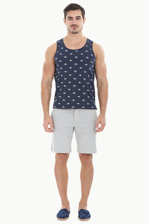 Allover Printed Summer Tank