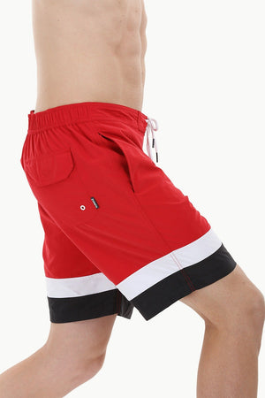 Beach Ready Nylon Swim Shorts