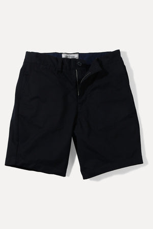 Black Twill Summer Chino Shorts