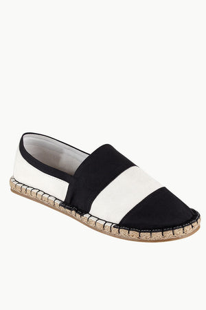 Block Striped Espadrilles