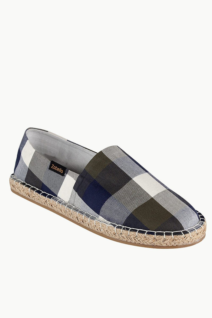 Buffalo Check Espadrilles