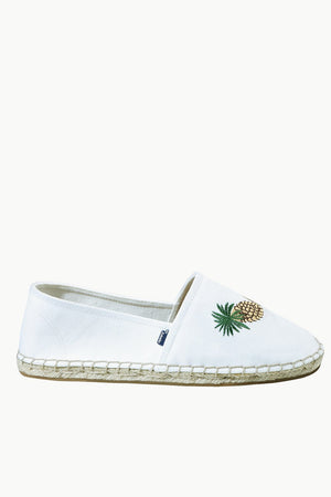 Men's Oatmeal Pineapple Tag Espadrilles