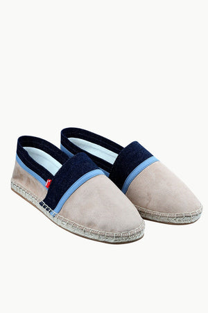 Men's Suede Tan Cut N' Sew Espadrilles