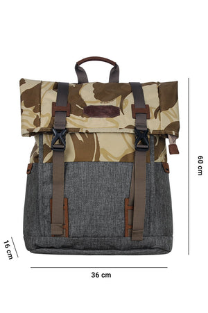 Lightweight Camo Laptop Travel Backpack