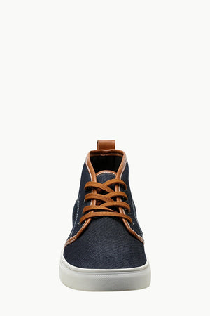 Canvas High Ankle Lace Up Plimsolls