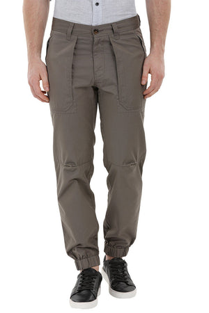 Cargo Cuff Jogger Grey Pants
