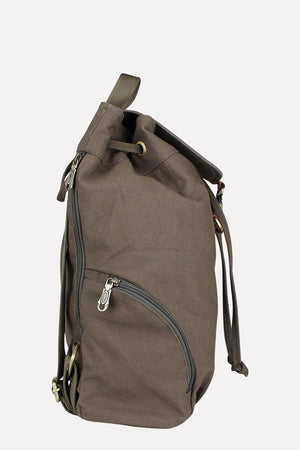 Casual Dyed Canvas Backpack