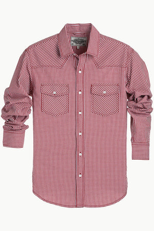 Casual Gingham Shirt