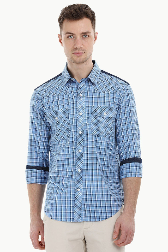Casual Glen Plaid Shirt