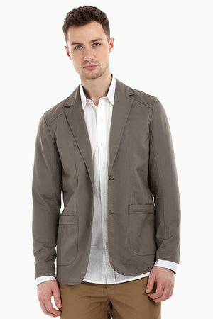 Casual Hazel Notched Blazer
