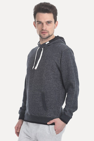 Heather Hoodie With Cire Lining