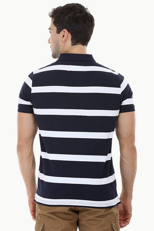 City Striped Polo T-Shirt