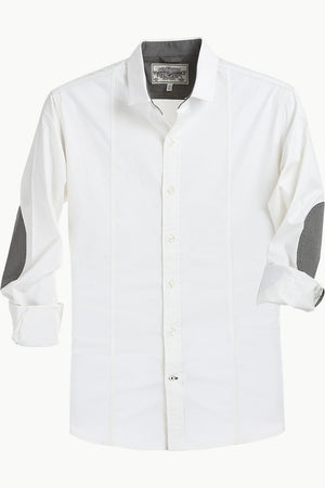 White Cotton Stretch Shirt