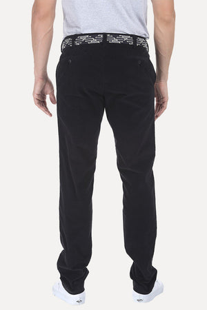 Slim Fit Cotton Cord Pants