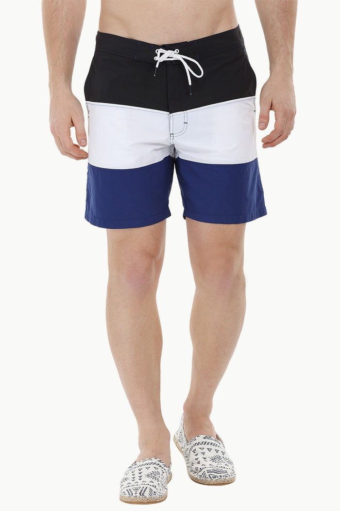 Colourblock Beach Swim Shorts