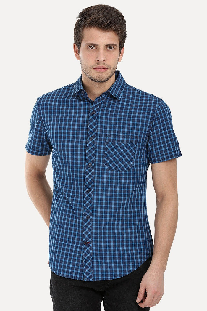 Mutli Tone Madras Plaid Yarndye Shirt
